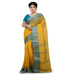 Buy Bengali Tant Saree in India